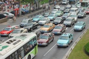Tägliches Bild: Verkehrschaos in Shanghai