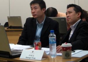 George Zheng, Andy Chen und Nicole Hu begegnet man in China täglich