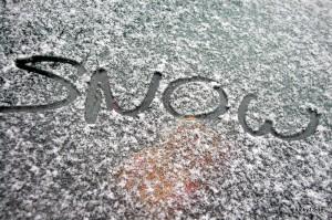 Seltene Bescherung: Schnee in Shanghai