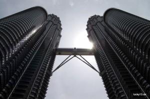 Petronas Towers in Kuala Lumpur - Das Wahrzeichen Malaysiens.