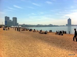 Strand von Qingdao