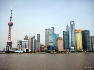 Auf Touritour in Shanghai